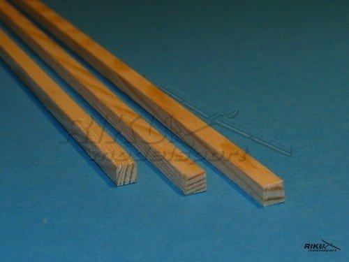 Listwa sosnowa - 3x3x1000mm