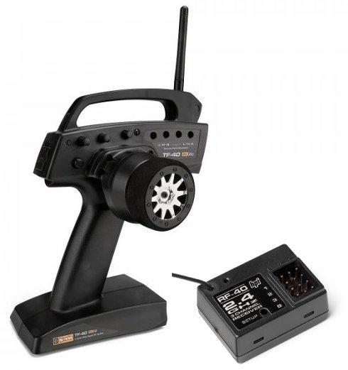 Aparatura samochodowa HPI TF-40 2.4GHz (3ch) 10538