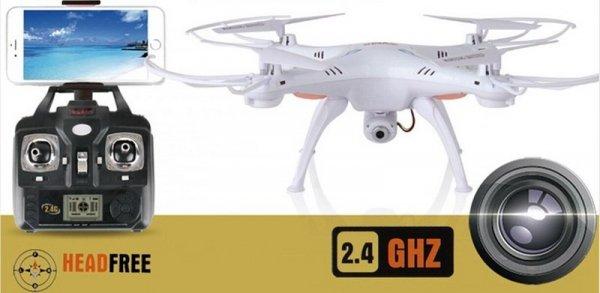 Dron Syma X5SW 2.4GHz z FPV  Podgląd na żywo