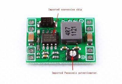 FPV - przetwornica max 3A - 4,5-28V na 0,8-20V