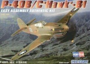 HOBBY BOSS 80209 1/72 P-40B/C Hawk-81
