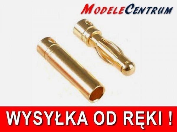 Gold Konektor banan 5,5 mm  - Para