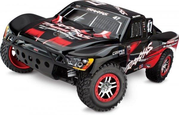 TRAXXAS 1/10 4X4 SLASH SHORT COURSE TRUCK AUDIO/ T AUTO RC