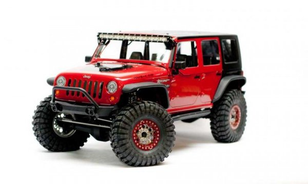Axial: Axial SCX10 Jeep Wrangler Unlimited Rubicon