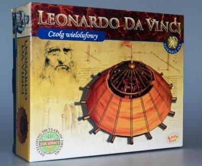 LEONARDO DA VINCI - czołg wielolufowy