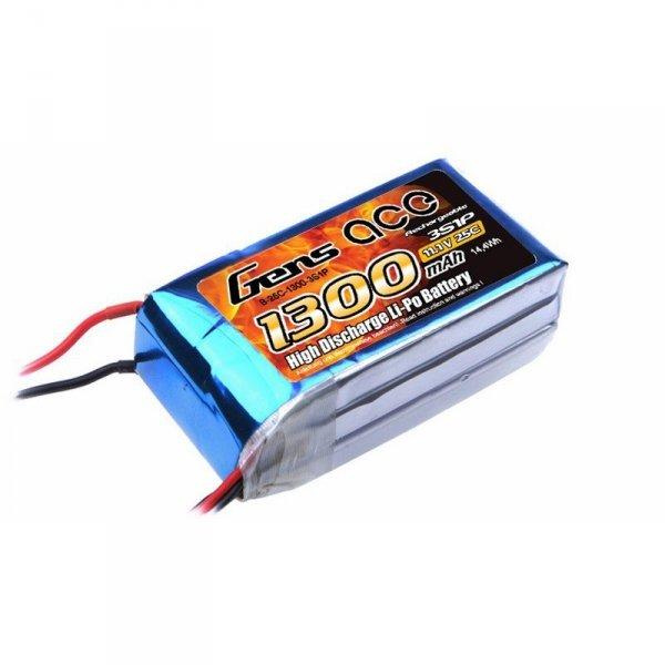 Akumulator Gens Ace: 1300mAh 11.1V 25C