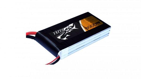 Akumulator Gens Ace: 8000mAh 11.1V 15C TATTU Gens
