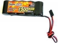 Akumulator Pakiet 6V 1500mAh NiMH - Płaski