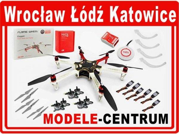 Dron Hexacopter DJI F550 + Naza-M Lite + GPS + E305 (do złożenia)