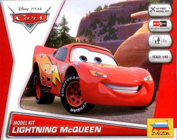 ZVEZDA 2012 DISNEY CARS - LIGHTING 1:43