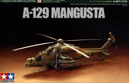 Tamiya 60758 A-129 MANGUSTA 1/72