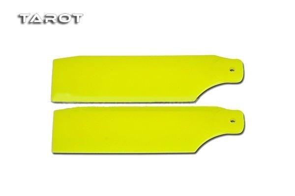 450 SPORT/PRO – Łopatki ogonowe żółte FLUO