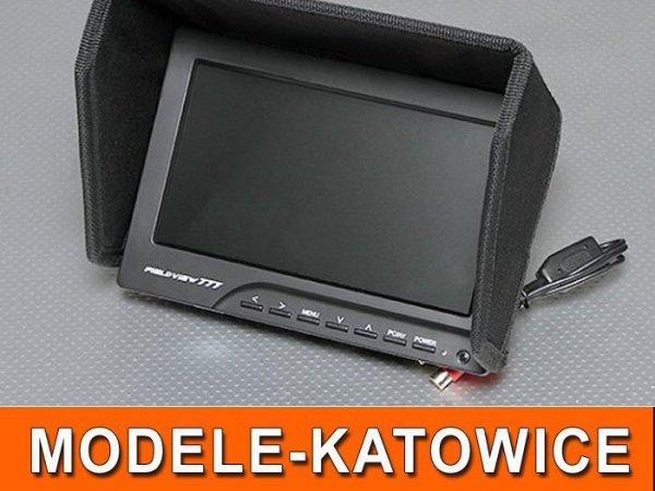 "FPV Monitor LCD 8"" 800x480 z odbiornikiem 5,8"