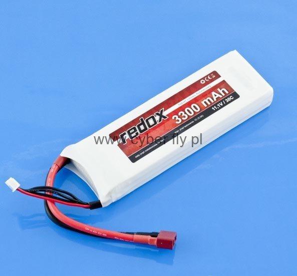 Akumulator REDOX 11,1V 3300 mAh 30C LiPo