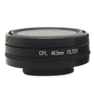 Filtr CPL 40,5mm + dekielek GoPro Hero 4 3+ 3