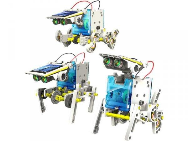 Roboty 14w1 Edukacyjny zestaw solarny