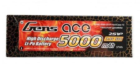 Akumulator Gens Ace 5000mAh 7,4V 50C 2S1P Hardcase