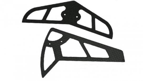 KDS Komplet stateczników z włókna węglowego 1208-75