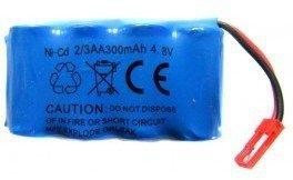 Akumulator 300mAh 4.8V Ni-Cd