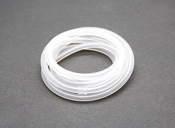 Silikonowy przewód paliwowy paliwo żarowe 1m biały