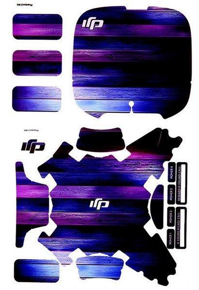 Naklejki dla Dji Phantom 3/4 Fioletowy Gradient