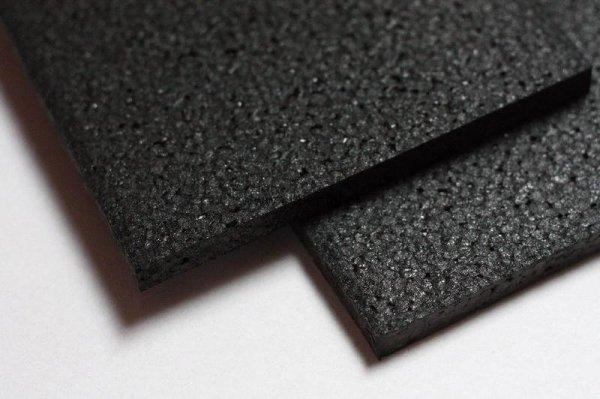 Czarna płyta pianka EPP 600 x 450 x 12 mm