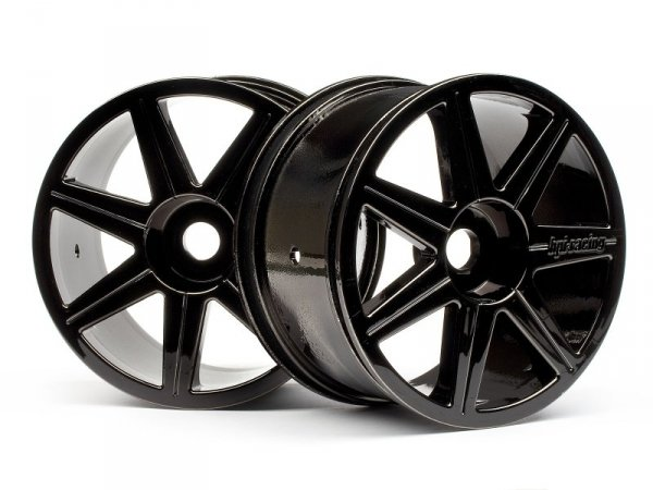 7 SPOKE BLACK CHROME TROPHY TRUGGY WHEEL 101156