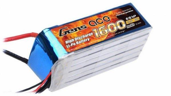Akumulator  Gens Ace: 1600mAh 22.2V 40C