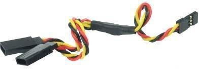 Y-kabel rozgałęźnik JR 30cm 26 AWG skręcony