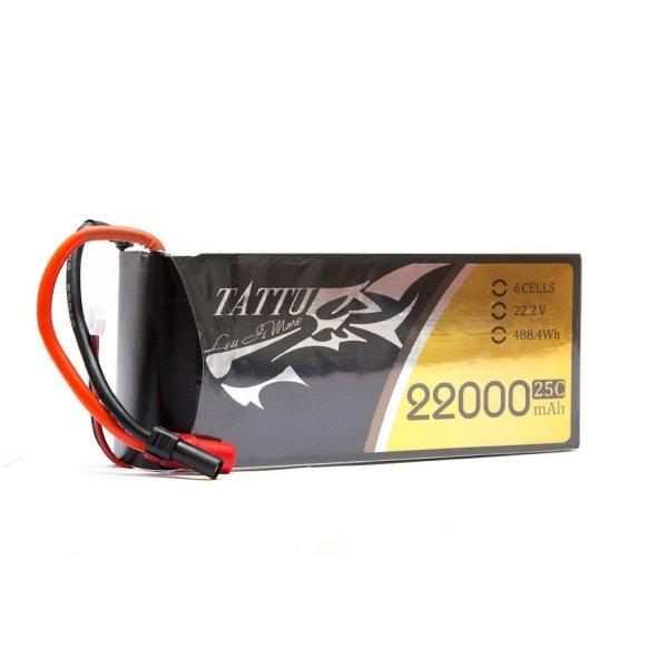 Gens Ace: 22000mAh 22.2V 25C TATTU Gens Akumlator