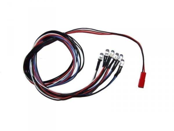 Oświetlenie samochodu LED diody