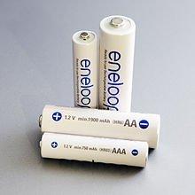 Panasonic: AA 1.2V 1900mAh Eneloop