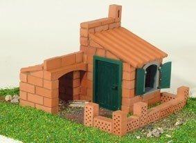Budowle domki 2 projekty Cegiełki TEIFOC