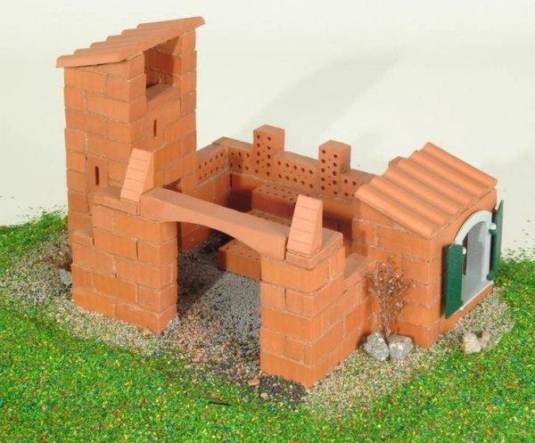 Budowle domki 3 projekty Cegiełki TEIFOC