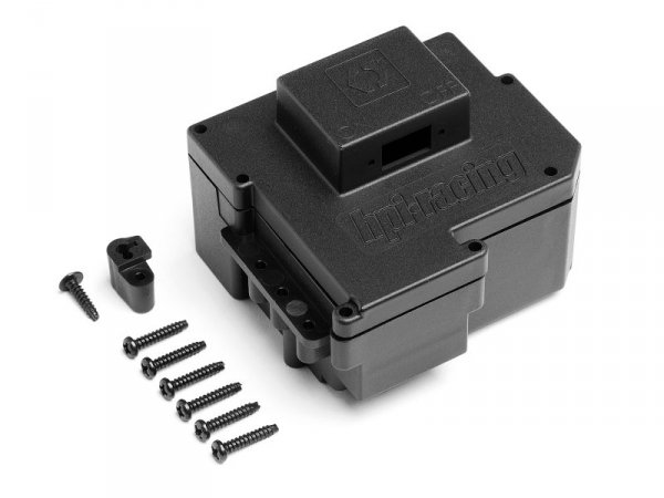 BULLET NITRO BATTERY AND RX BOX PLASTIC PARTS 101861