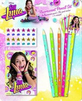 Soy Luna Zestaw kredek fluorescencyjnych