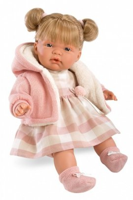 Lalka płacząca Lucia 38 cm