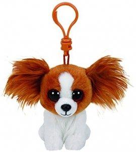 TY Beanie Babies Barks - Brązowy pies, 8.5 cm
