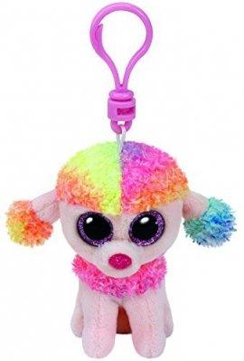 TY Beanie Boos Rainbow - Kolorowy pudel 8,5 cm