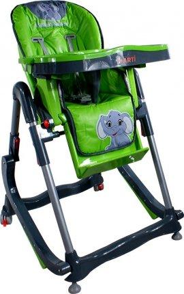 ARTI Modern RT-004 Green Little Elephant KRZESEŁKO DO KARMIENIA