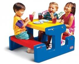 LITTLE TIKES 4795 Stolik piknikowy do rysowania