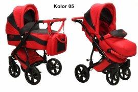 BabySafe AQUILA 05 Wózek 2w1 WIELOFUNKCYJNY + PARASOL
