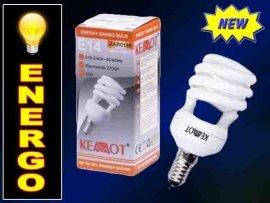 ZAR0198 Żarówka energooszczędna T2 PÓŁ SPIRALA 15W
