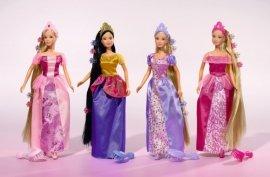 SIMBA 5733398 SL Fairytale z długimi włosami, 4 rodz.