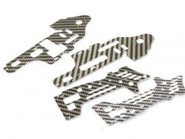 Aluminiowe Elementy Mocowania Komplet 4sztuki F645-017 F45-017