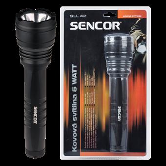 SENCOR SLL 42 Profesjonalna latarka metalowa 5 W