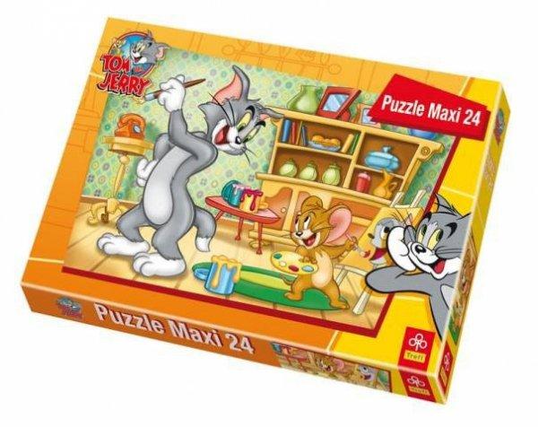 TREFL 14103 PUZZLE MAXI PORTRET TOMA 24el