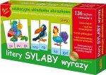 ADAMIGO ZESTAW EDUKACYJNY LITERY SYLABY 4+