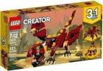LEGO CREATOR MITYCZNE STWORZENIA 31073 7+
