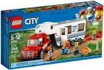 LEGO CITY PICKUP Z PRZYCZEPĄ 60182 5+